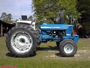 7600 - Fiche technique Ford 7600