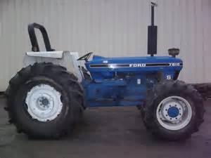 7810S - Fiche technique Ford 7810S