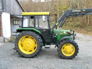 tracteur John Deere 1140