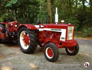 Farmall - Fiche technique IH FARMALL