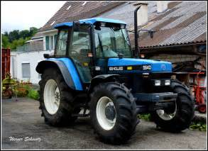 tracteur New Holland 5640