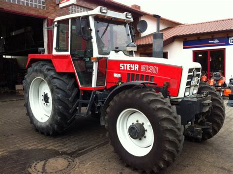 tracteur Steyr 8110